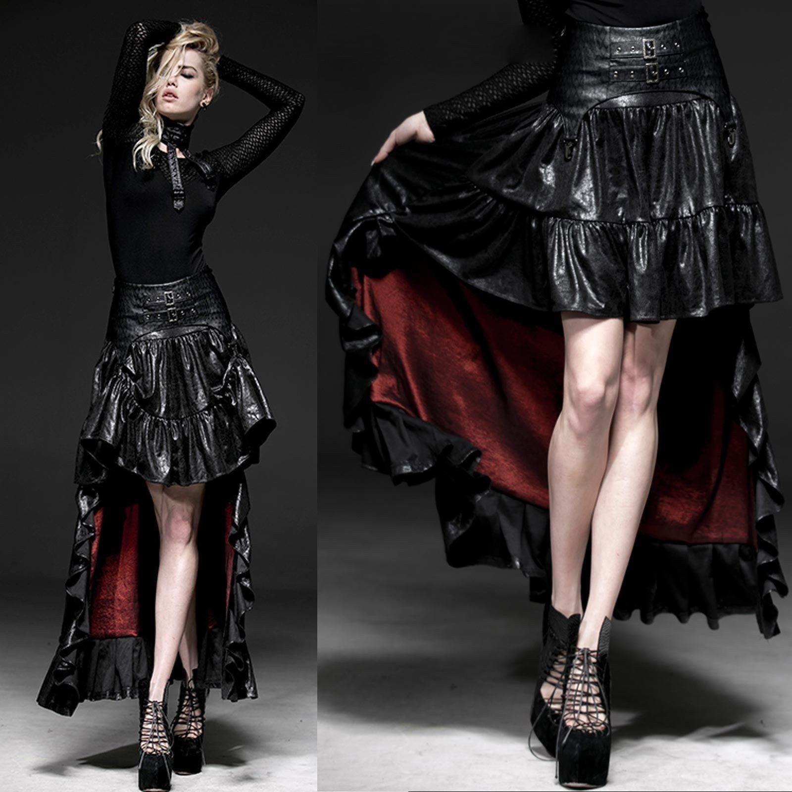 PUNK RAVE Midnites Dawn Skirt Gothic Rock
