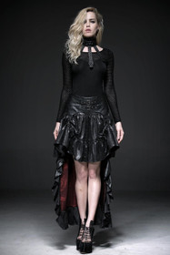 Detail image to PUNK RAVE Midnites Dawn Gothic Skirt