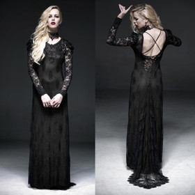 PUNK RAVE Morticia's Evening Dress