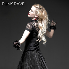Detail image to PUNK RAVE Pretty Puritan Top