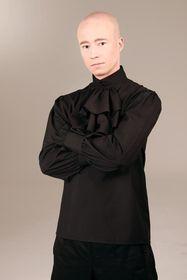 Detailbild zu ANDERSARTIG Elegant Dandy Jabot Top Black