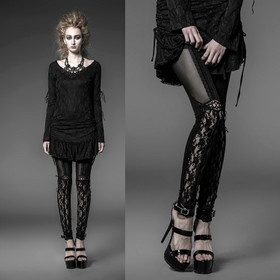 Detailbild zu PUNK RAVE Dark Romance Leggings