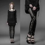 PUNK RAVE Dark Romance Leggings 001