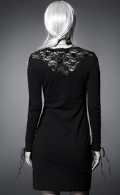 Detail image to PUNK RAVE Charming Sorrow Dress