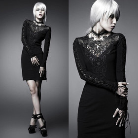 PUNK RAVE Charming Sorrow Dress Gothic Kleid