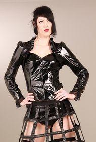 Detailbild zu ANDERSARTIG Gwendolyne Riding Jacket Black