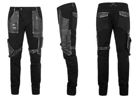 Detailbild zu PUNK RAVE Urban Warrior Pants
