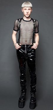 Detailbild zu LIP SERVICE Suspender Pants Black