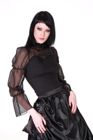 Detailbild zu ANDERSARTIG Elegant Gothic Chiffon Bluse