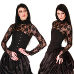 ANDERSARTIG Lace of Roses Spitzen Top 001