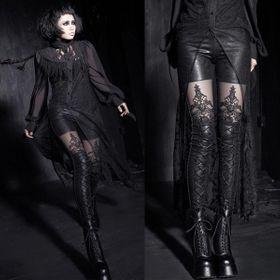 Detailbild zu PUNK RAVE Gothic Noblesse Leggings