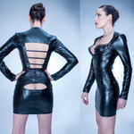 PATRICE CATANZARO Melena Peep-Hole Wetlook-Rock 001