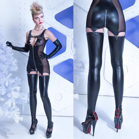 PATRICE CATANZARO Sicilia Wetlook Stockings
