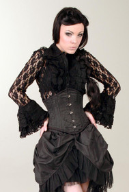 Detail image to BURLESKA Widow Lace Shirt