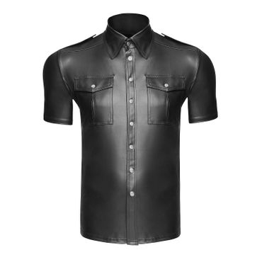 NOIR HANDMADE Wetlook Shirt Matt