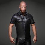 NOIR HANDMADE Wetlook Shirt Matt 001