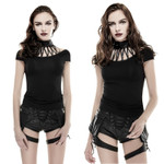 PUNK RAVE Leatherstrap Top 001