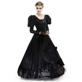 PUNK RAVE Victorian Mourning Dress