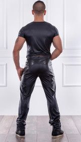 Detail image to PATRICE CATANZARO Aaron Wetlook-PVC Top