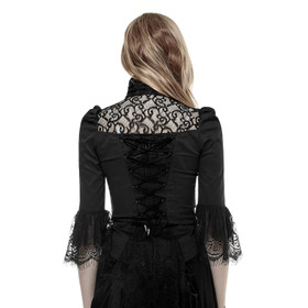 Detail image to PUNK RAVE Victorian Blouse Shirt