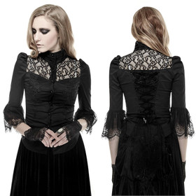 PUNK RAVE Victorian Blouse Shirt
