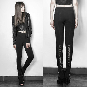 Detailbild zu PUNK RAVE Hook N Eye Leggings
