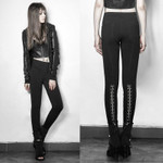 PUNK RAVE Hook N Eye Leggings 001