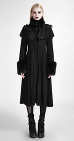Detail image to PUNK RAVE Karenina Gothic Coat