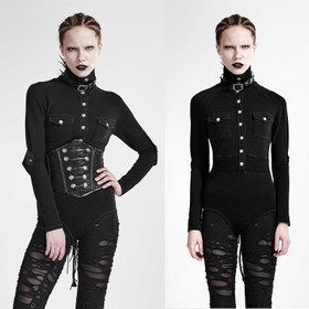 PUNK RAVE Uniform Body Schwarz