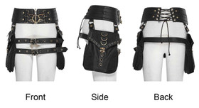 Detail image to PUNK RAVE Steampunk Waistbags