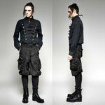 PUNK RAVE Steampunk Breeches Black 001