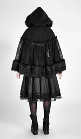 Detail image to PUNK RAVE PYON Lolita Hooded Cape