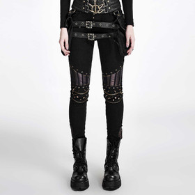 Detail image to PUNK RAVE Industrial Punk Pants