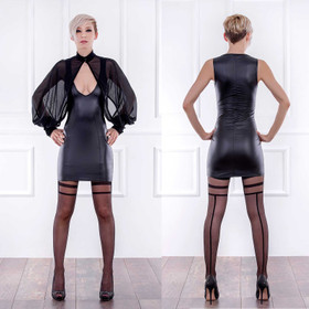 PATRICE CATANZARO Roxy Wetlook Dress