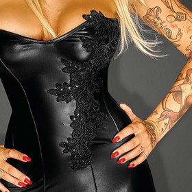 Detail image to NOIR HANDMADE Glamorous Corset Dress