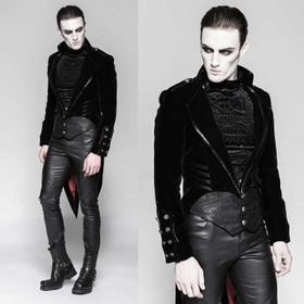 Detail image to PUNK RAVE Gothic Vampyre Coat
