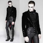 PUNK RAVE Gothic Vampyre Coat 001