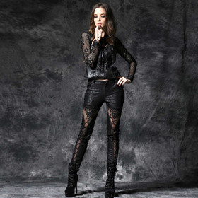 DARK IN LOVE Lace And Lust Pants