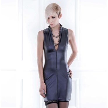 PATRICE CATANZARO Lindsay Wetlook Kleid