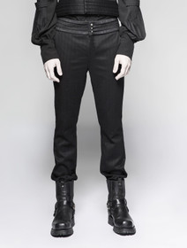 Detailbild zu PUNK RAVE Black Steam Pants