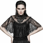 PUNK RAVE Gothic Veil Top 001