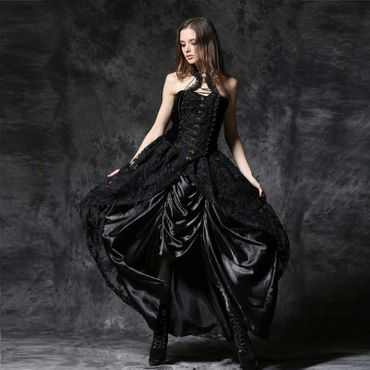 DARK IN LOVE Victorian Skirt
