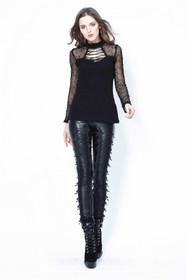 Detailbild zu DARK IN LOVE Fringe Punk Leggings