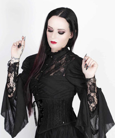 Detail image to VINTAGE GOTH Victorian Blouse Top
