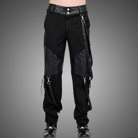 VINTAGE GOTH Pinstripe Pants