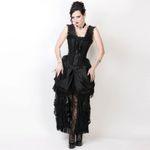 VINTAGE GOTH Viktorianisches Kleid 001