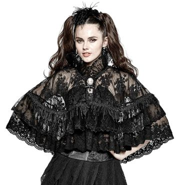 PUNK RAVE PYON Gothic Lace Cape
