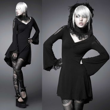 PUNK RAVE Black Beauty Dress