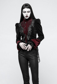Detail image to PUNK RAVE Morticia Gothic Jacket