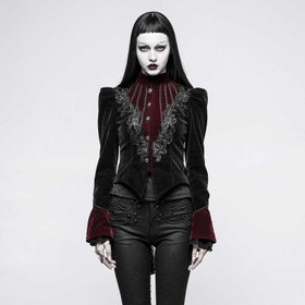 PUNK RAVE Morticia Gothic Jacket